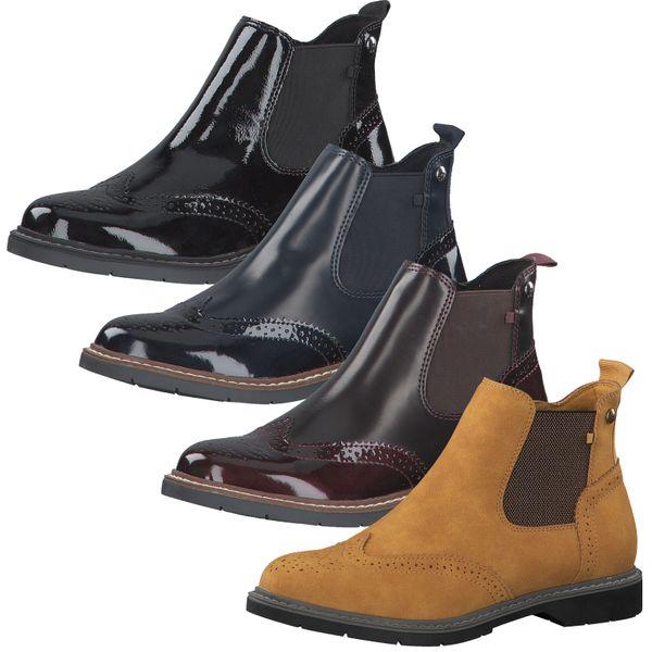 s.Oliver Damen Stiefeletten Chelsea Boots 5-25444-25