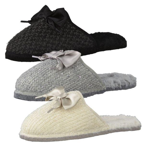 Tamaris Damen Pantoffeln Warmfutter Hausschuhe 1-27301-25