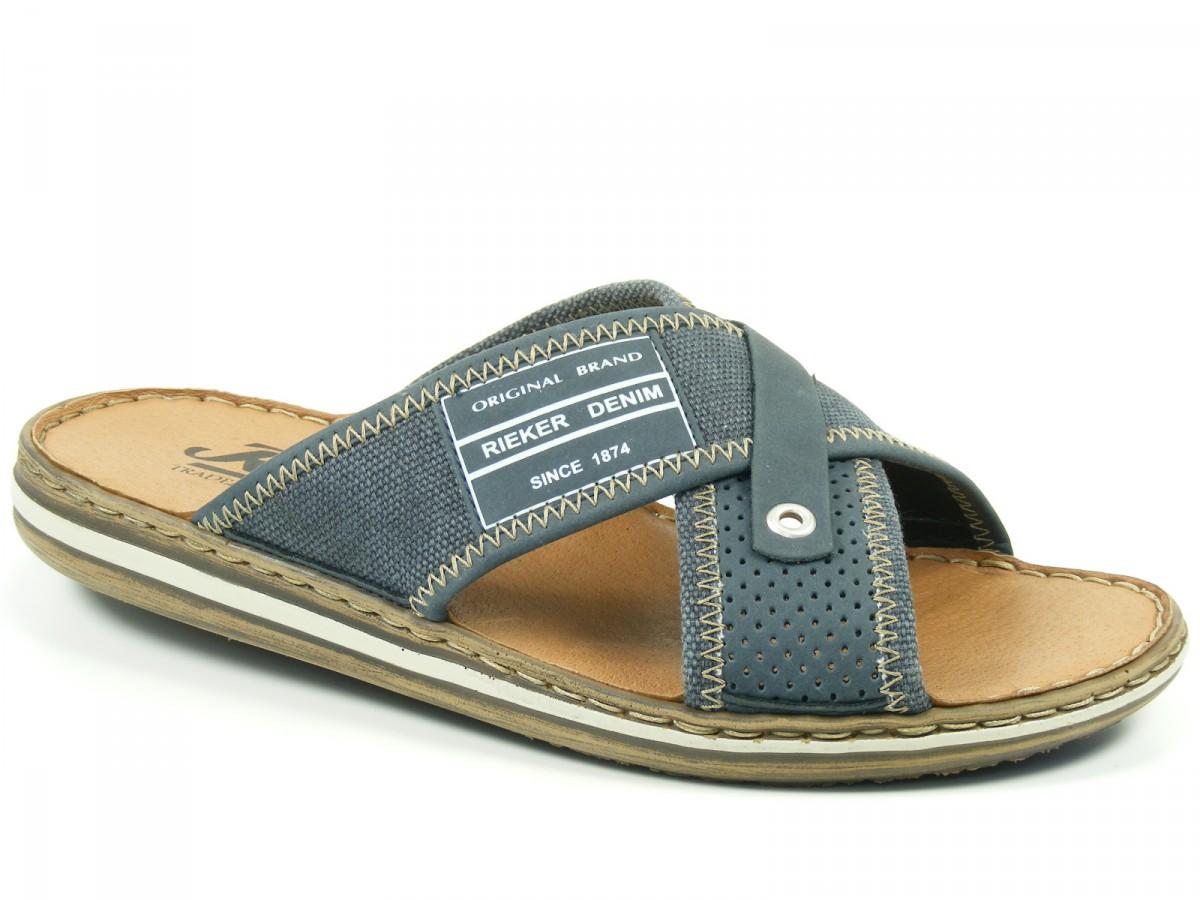 Schuhe Sandalen Clogs Ukfj53lct1 21064 Rieker Pantoletten 14 Herren doxWrCBe
