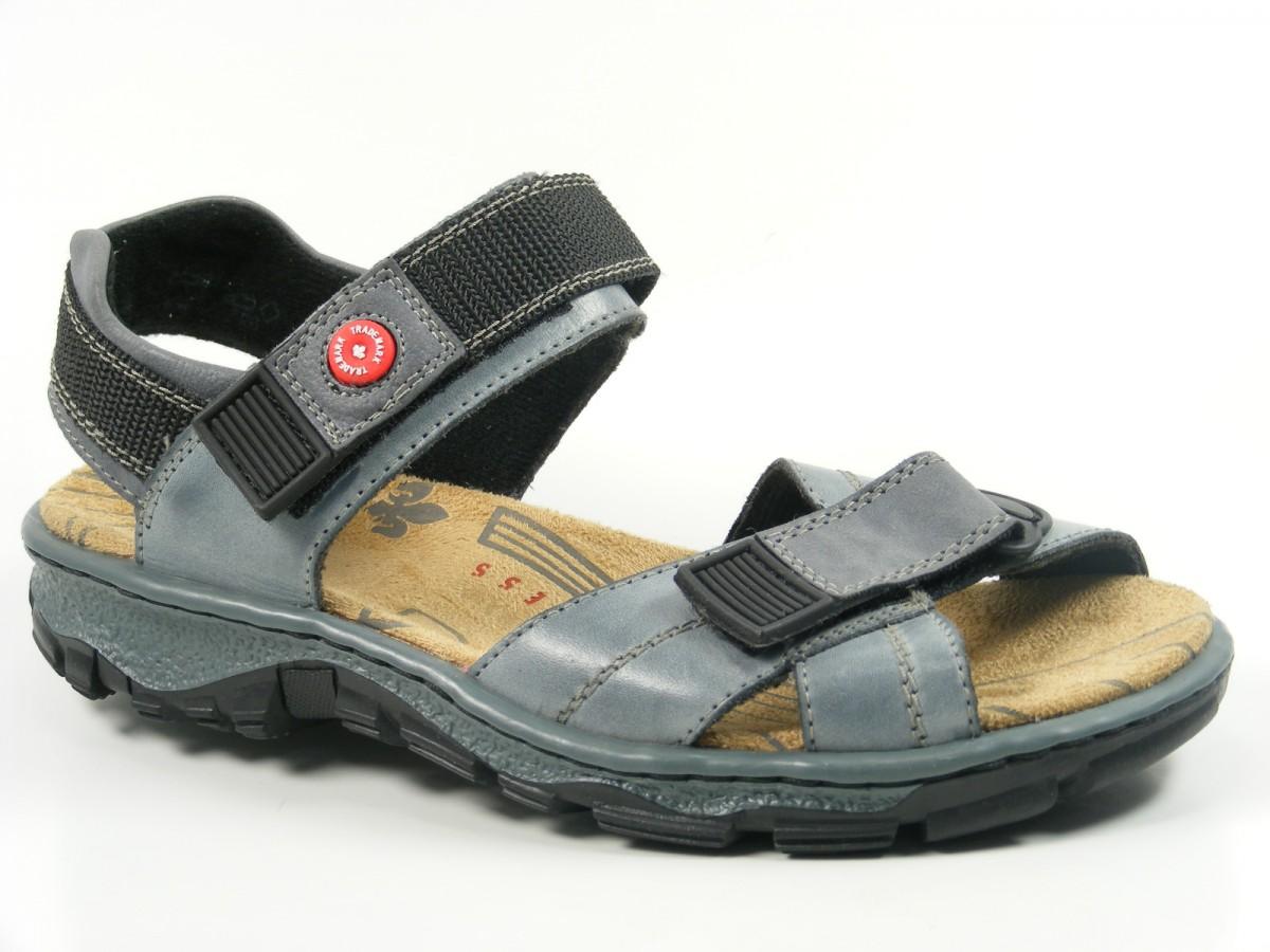 rieker 68851 12 schuhe damen trekking sandalen. Black Bedroom Furniture Sets. Home Design Ideas
