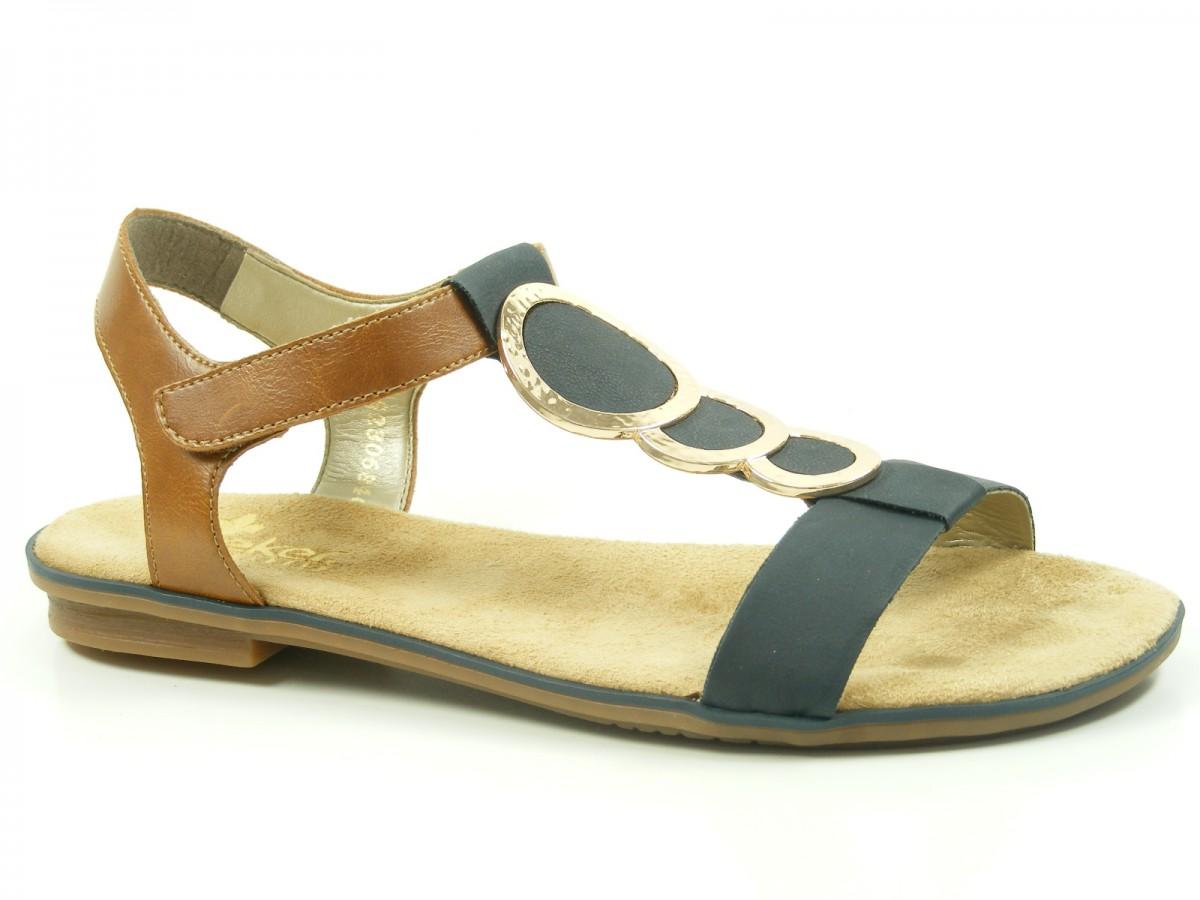 rieker 64278 16 schuhe damen sandalen. Black Bedroom Furniture Sets. Home Design Ideas