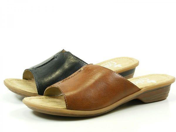 Rieker 63459 Schuhe Damen Pantoletten Clogs