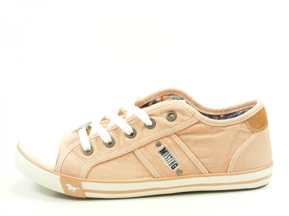 Mustang 1110 302 Schuhe Damen Schnürschuhe Halbschuhe Sneaker