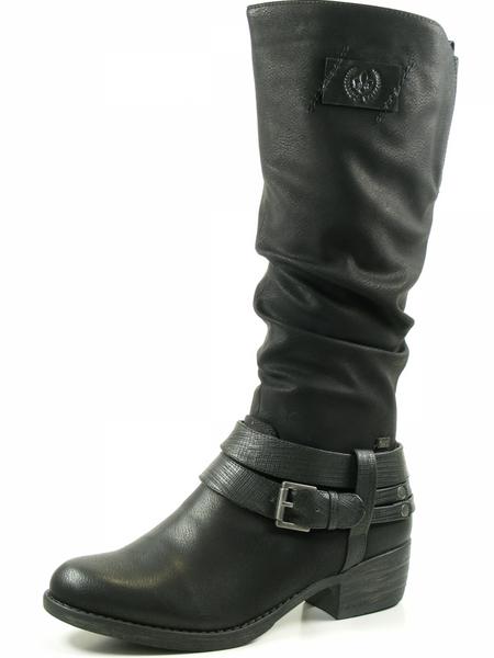 Rieker 93158-00 Schuhe Damen Stiefel Warmfutter Rieker-Tex