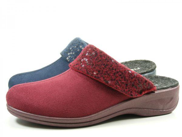 Rohde 2411 Verden Schuhe Hausschuhe Pantoffeln Wechselfußbett Weite H