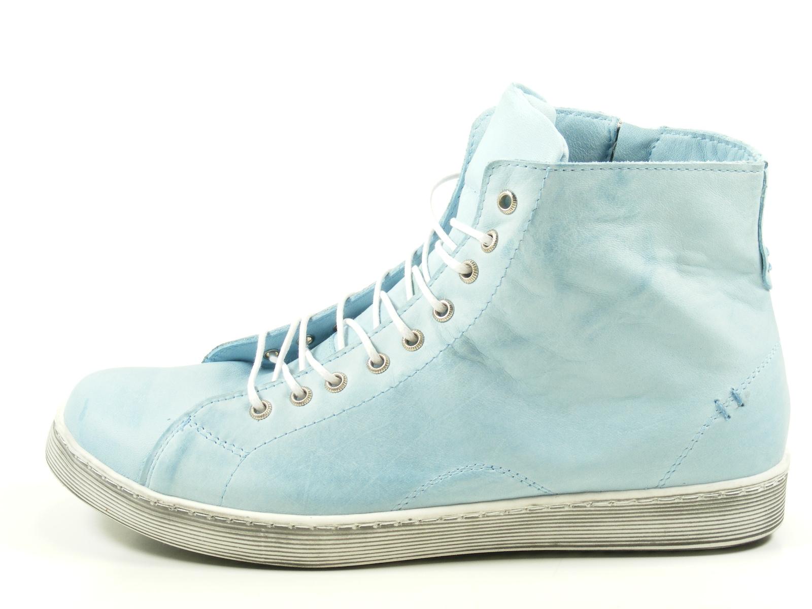Andrea Conti 0341500 Schuhe Damen Boots Halbschuhe Sneaker High Top, Schuhgröße:38 EU, Farbe:Blau