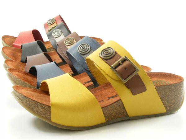 Dr. Brinkmann 700959 Schuhe Damen Keil Pantoletten Clogs