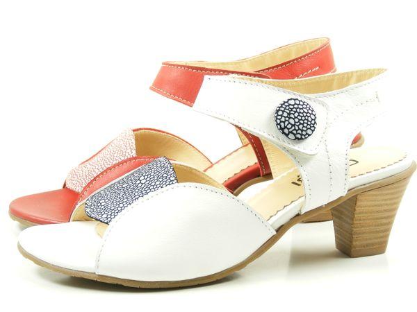 GHIBI A054 Schuhe Damen Sandalen Sandaletten