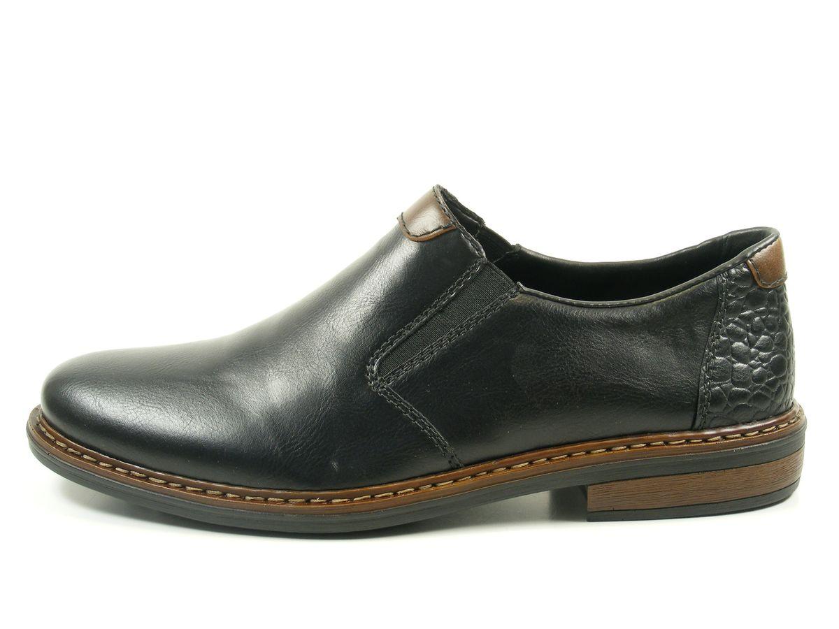 rieker 17662 01 schuhe herren halbschuhe slipper extra weit. Black Bedroom Furniture Sets. Home Design Ideas